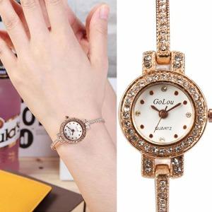 홀릭 여성 메탈 패션 손목 시계