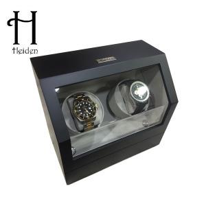 하이덴 프리미어 더블 와치와인더 HD010-Black Wood