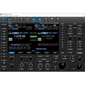 RS-BA1 version2 아이콤 IP 리모트 콘트롤 소프트웨어