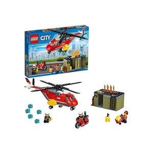 레고 시티 소방 헬리콥터 60108 추가금X