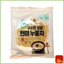 스낵/지도표/현미/누룽지/국내산쌀/150g