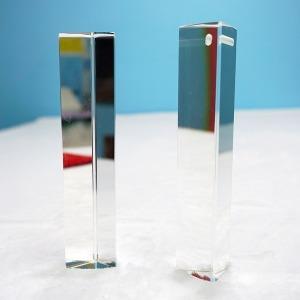 크리스탈 유리 썬캐쳐 프리즘 스펙트럼 무지개 만들기