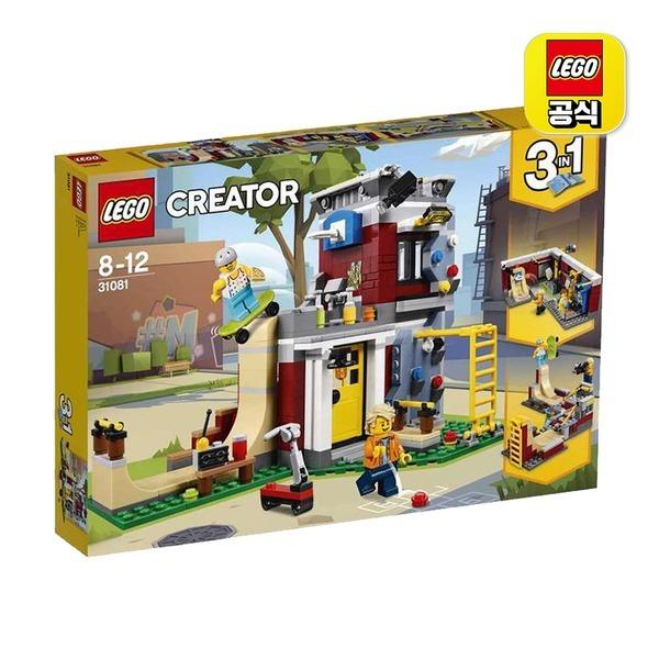 레고 크리에이터 31081 모듈러 스케이트 하우스