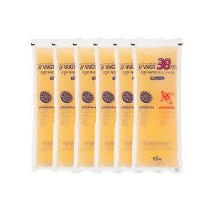 파라핀 38 전용 리필왁스 오렌지(6개) 왁스