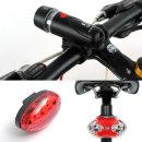 자전거 LED 후미등 후레쉬 라이트 전조등 / 5구 후미등