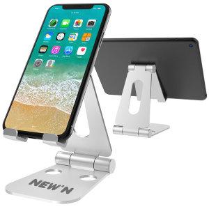 UP03 태블릿 핸드폰 휴대폰 아이패드 거치대 (실버)