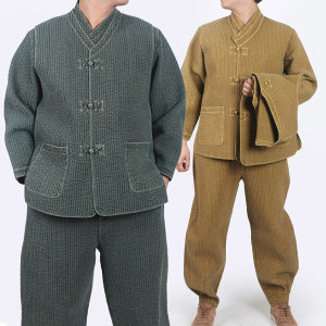 MM308_순면누빔 저고리+조끼+바지/생활한복 개량한복