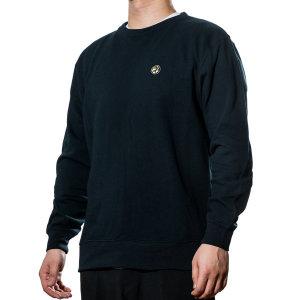 굿하비 맨투맨 티셔츠 블랙/그레이 (Black/Grey)