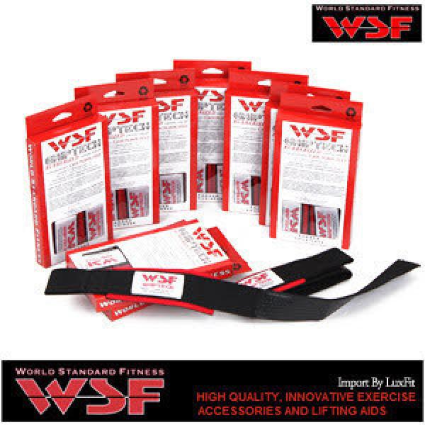 [WSF] World Standard Fitness 논슬립 리프팅 스트랩 헬스 스트랩 패드