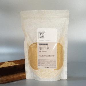 청년곡물 국산 100% 한번더 곱게간 미강가루 1kg