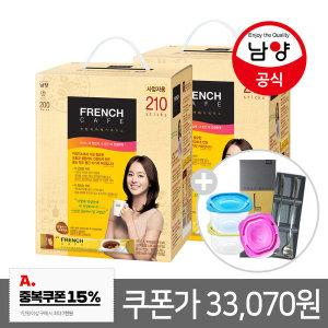 카페믹스/믹스커피/ 프렌치카페 커피믹스 420T+증정2개