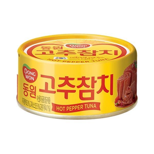 동원참치 고추참치 100g (1캔) 4만원이상 무료배송