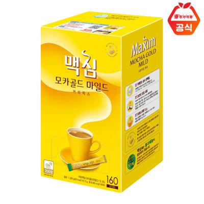 [맥심] 모카골드 커피믹스 160T