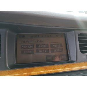뉴에쿠스 350 순정 AV 모니터 96563-3B100