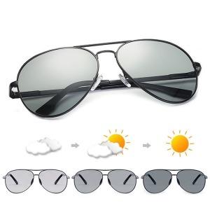 변색 편광 선글라스 보잉썬글라스 자외선차단 P2018