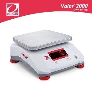 산업용 방수저울 3kg/0.5g 충전 50시간 오하우스 V22