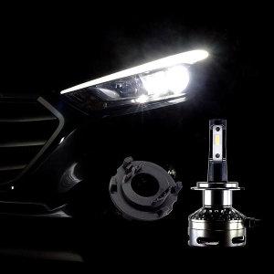 12V-24V 엠프로빔블랙에디션V2 LED전조등 H7-A타입