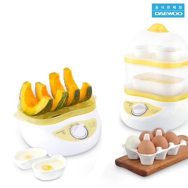 DAEWOO 2단 에그쿠커 달걀 계란찜기 전기 멀티찜기