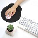 03마우스 손목보호패드(대-블랙) 메모리폼 손목쿠션
