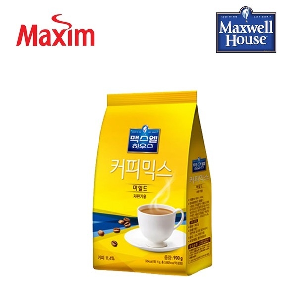 맥스웰하우스 커피믹스 마일드 900g/자판기커피/커피