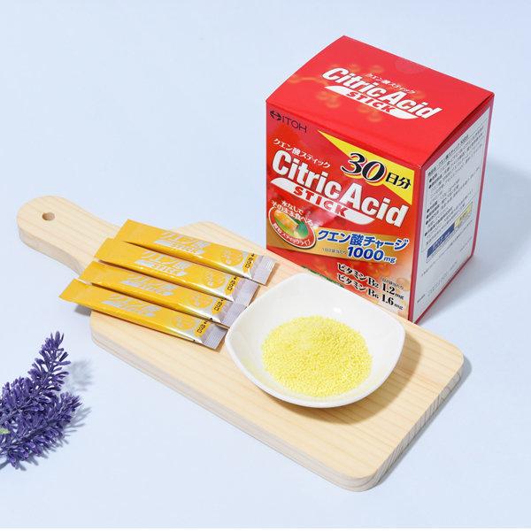 개별포장 먹는구연산 이토 구연산스틱 한달분 (60포)