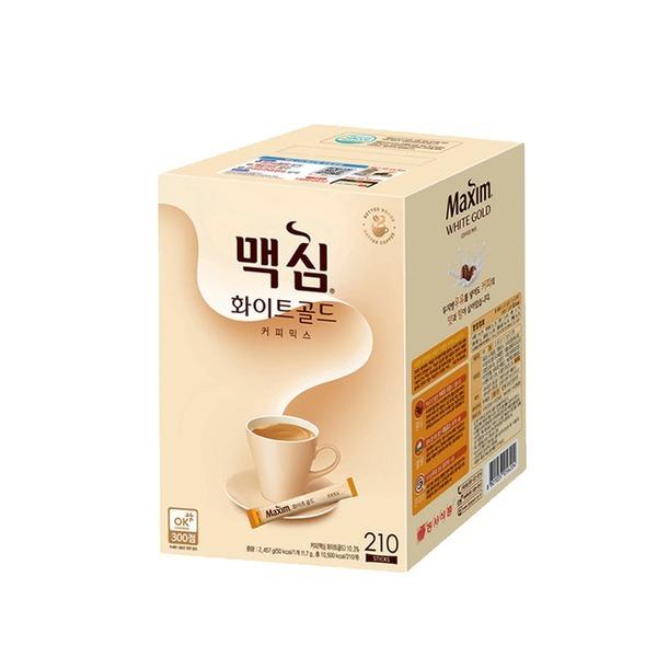 맥심 화이트골드 커피믹스 210T/연아커피/커피/모카