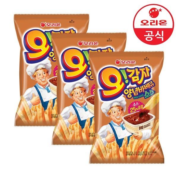 오리온 2900원 골라담기_오감자 양념바베큐 3개