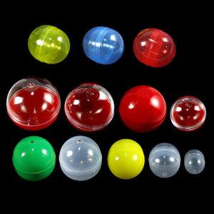 B 둥근캡슐 대량구매 추첨볼 뽑기통 투명캡슐 빈캡슐