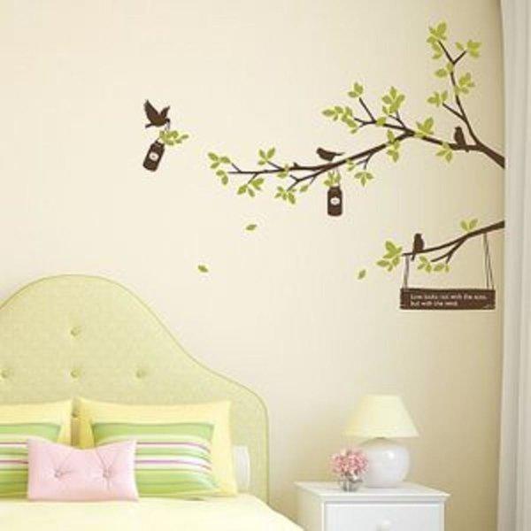 리틀트리 디자인스티커 시트지 벽장식 DIY 인테리어시