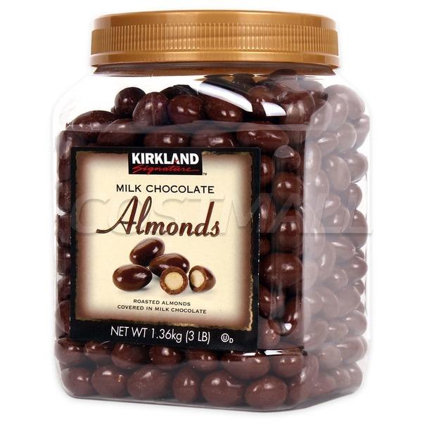 커클랜드 밀크초콜릿 아몬드 1.36kg/초콜릿/초콜렛