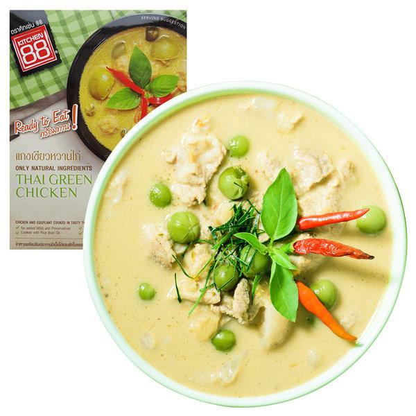 태국음식 그린 치킨 카레 3분요리
