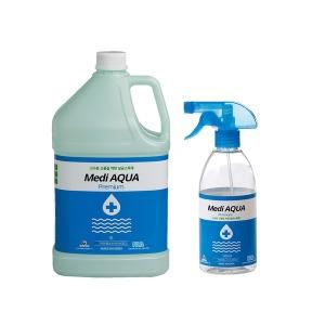메디아쿠아 4L 500ml 살균소독제 차아염소산수