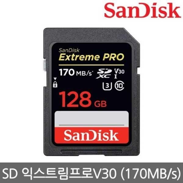 포커스 SanDisk  Extreme Pro SDXC 128GB/SDSDXXY