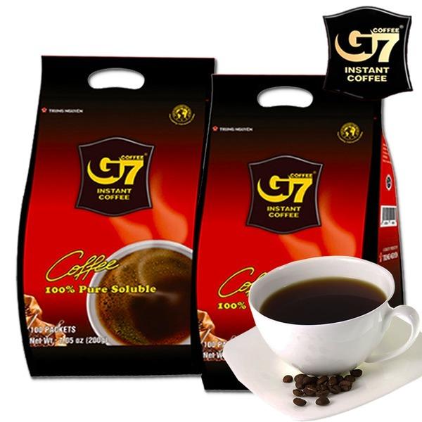 G7 지세븐 블랙커피 200T / 무료배송 / 100T+100T