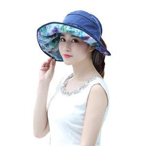 (정품) 양면 프라햇/여성 돌돌이 모자/여름 비치 썬캡