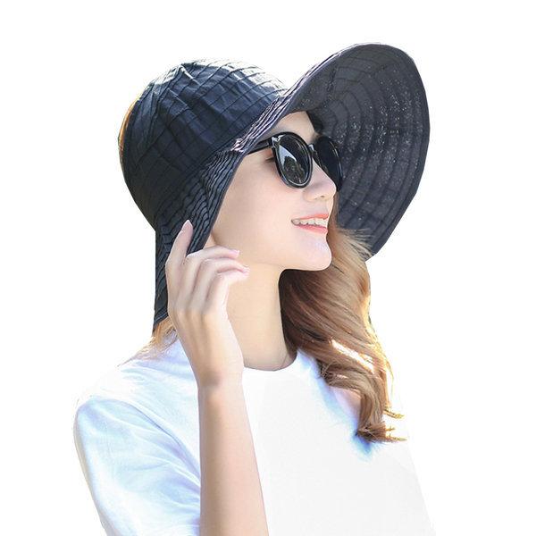 (정품) 롤업 프라햇/돌돌이 여성 썬캡 모자/여름 비치