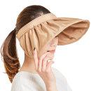 (정품) 썬캡 프라햇/자외선차단 여성 여름 비치모자