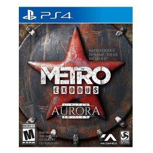 PS4 게임 메트로 엑소더스 오로라 리미티드 에디션