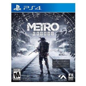 PS4 게임 메트로 엑소더스 데이 원 에디션/플스
