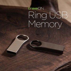 트리온RING USB메모리4G 도매 인쇄 판촉 기념 2017250