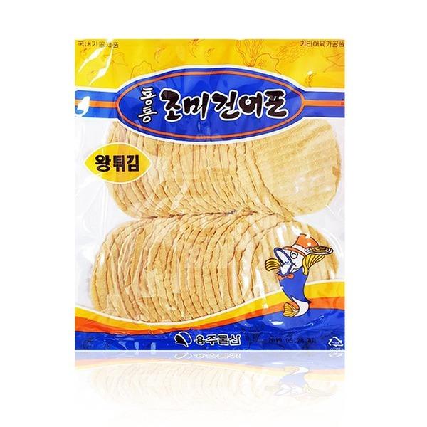 튀김용어포400g(40마리)/간식/튀기는쥐포/구운쥐포