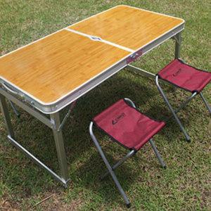 캠프 4인용 휴대용 캠핑 야외 피크닉 접이식 테이블