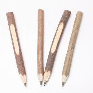 천연 나무 볼펜 / 만들기재료 필기구 우드아트 목공예