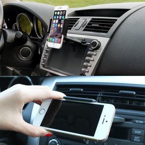 흔들림없는 CD슬롯 투입 핸드폰 휴대폰 차량용 거치대