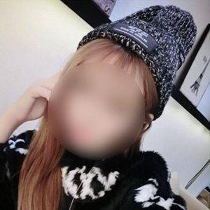 남여 공용 셀럽 비니 모자 간지나는패션 블랙 니트캡
