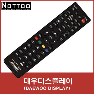 대우디스플레이(DAEWOO DISPLAY) TV 리모컨