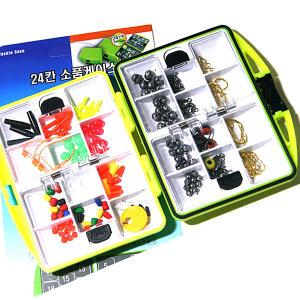 대방출 바다낚시 채비 소품세트 24종+원터치 태클박스