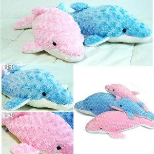 작은인형쿠션/해피돌고래 소  /인형쿠션 해피돌고래 소