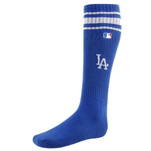 MLB 야구양말 LA 다저스 성인용 야구스타킹