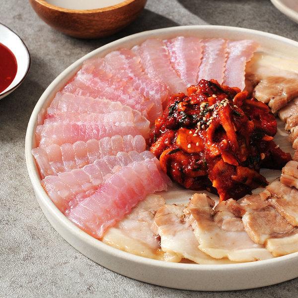 광명수산 국내산홍어 날개/모듬살 1.2kg